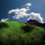 La Pariou et le puy de Dôme, en arrière-plan